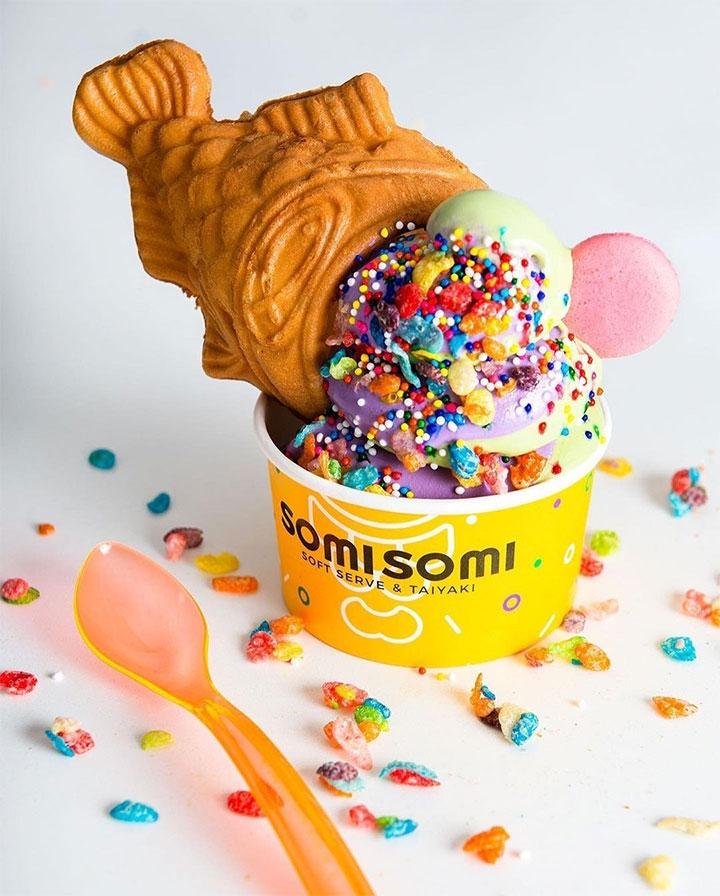 Famous Somi Somi Dessert Store and Trendy Korean Dessert