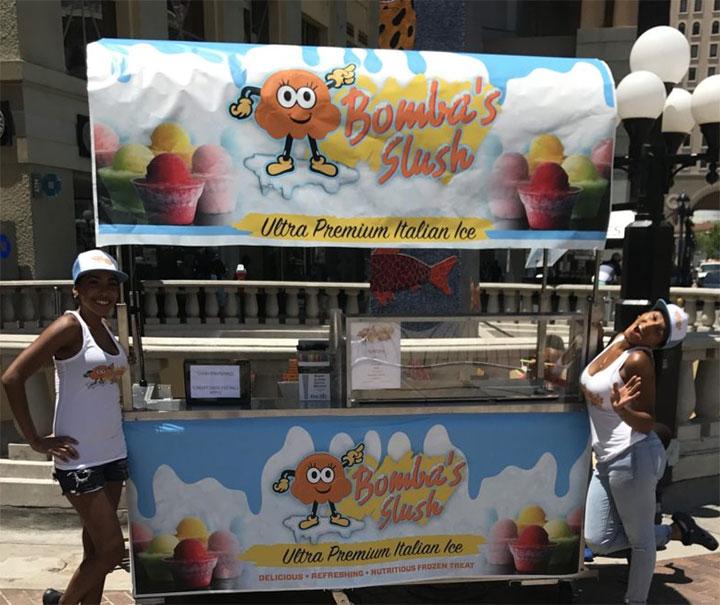 Custom designed equipment for ice cream stores