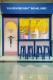 Creative ice cream shop design in bright blue and yellow