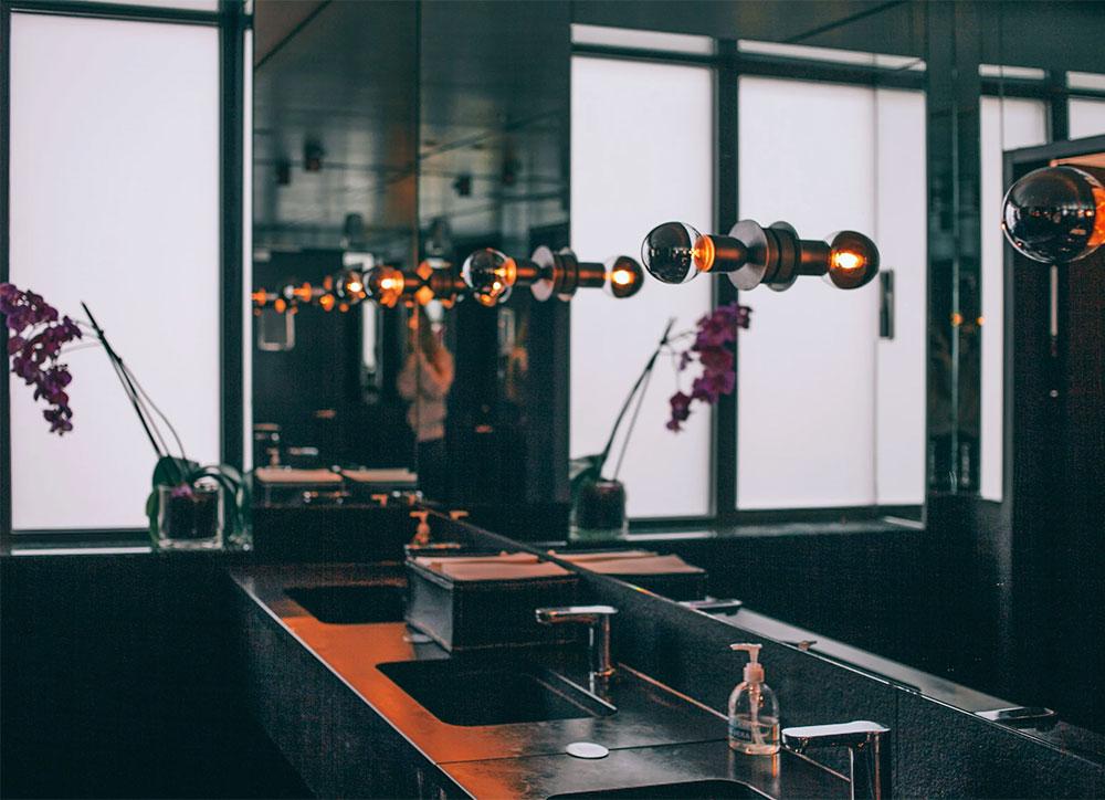 Restaurant's Restroom Design
