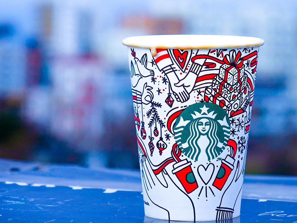 Starbucks Packaging Cups Design